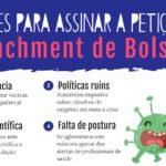 AVAAZ FAZ CAMPANHA POR ADESÕES A ABAIXO-ASSINADO PELO IMPEACHMENT DE BOLSONARO