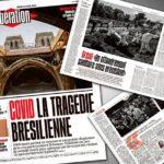 JORNAL FRANCÊS 'LIBÉRATION', DIZ QUE ATRÁS DO DESASTRE NO PAÍS, ESTÁ A SOMBRA DE BOLSONARO