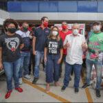 LULA PARTICIPOU DE MUTIRÃO DE ARRECADAÇÃO DE ALIMENTOS, 15 DIAS APÓS SEGUNDA DOSE DA VACINA