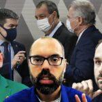 O BLOGUEIRO BOLSONARISTA ALLAN DOS SANTOS, FOI FINANCIADO POR LUCIANO HANG POR MEIO DE EDUARDO BOLSONARO